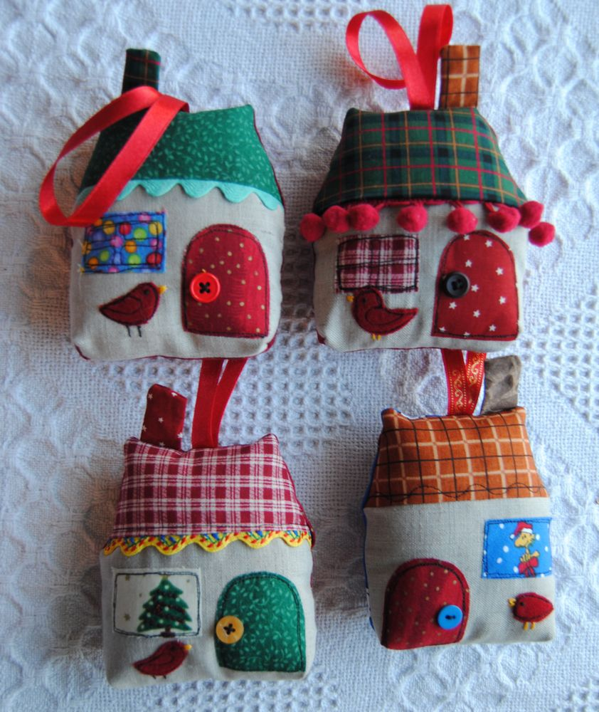 Attractive Christmas Fabric Craft Ideas Part - 11: For Conal: